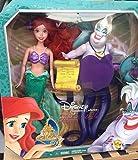 Disney Signature Collection ARIEL & URSULA (2 pack) Doll Set