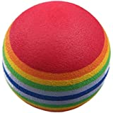 Golf Training Ball - TOOGOO R 50pcs Golf Swing Training Aids Indoor Practice Sponge Foam Rainbow Balls