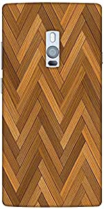 Snoogg Vector Wood Parquet Floor Designer Protective Back Case Cover For One ...