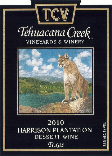 2010 Tehuacana Creek Vineyards And Winery Harrison Plantation Port 375 Ml
