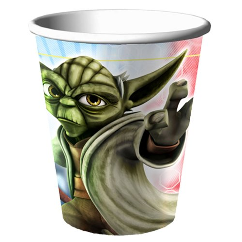 Star Wars: The Clone Wars - 9 oz. Cups Party Accessory