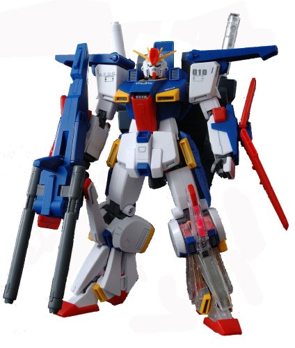 Gundam MSZ-010 ZZ Gundam with Extra Clear Body parts MG 1/100 Scale