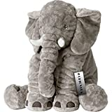 CHICVITA Elephant Stuffed Plush Pillow Pals Cushion Plush Toy