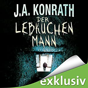 Der Lebkuchenmann (Jack Daniels 1) Hörbuch