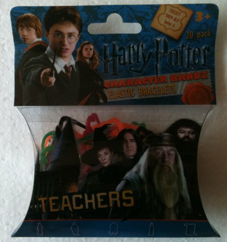 HARRY POTTER Silly Bandz TEACHERS (Pack of 20) SNAPE DUMBLEDORE & HAGRID