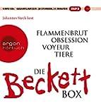 Die wei�e Beckett Box: Inhalt: Flamme...