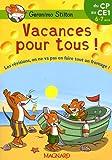 Vacances pour tous ! du CP au CE1