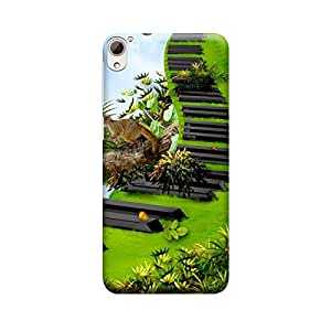 CaseLite Premium Printed Mobile Back Case Cover With Full protection For HTC 826 (Designer Case)