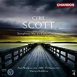 echange, troc  - Cyril Scott : Symphonie n° 1 - Concerto pour violoncelle