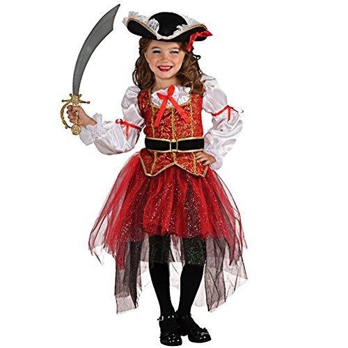 Piratenkostüm für Mädchen