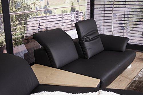 koinor avanti eckgarnitur plx kw2 brx in leder a noir. Black Bedroom Furniture Sets. Home Design Ideas