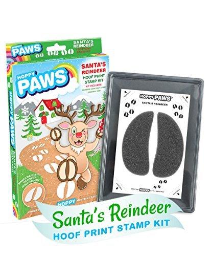 """Hoppy Paws """"Santa's Reindeer Hoof Print Stamp Kits"""" - 1"""