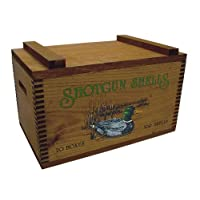 Large Wooden Box - Ducks Print