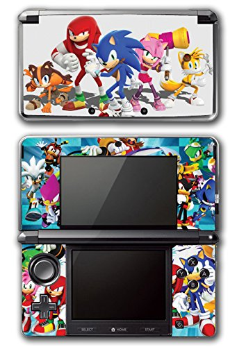 Sonic Boom Hedgehog Tails Amy Rose Knuckles Eggman Shattered Crystal Fire & Ice Orbot Cubot Shadow Video Game Vinyl Decal Skin Sticker Cover for Original Nintendo 3DS System (Shadow Hedgehog Game compare prices)