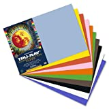 Tru-Ray Sulphite Construction Paper, 12 x 18 Inches, Assorted Colors, 50 Count  (103063)