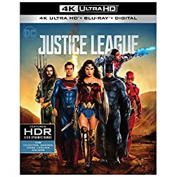 Justice League [4K Ultra HD + Blu-ray]