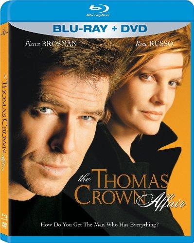 <トーマス・クラウン・アフェアー(1999)>  Thomas Crown Affair [北米版 Blu-ray]
