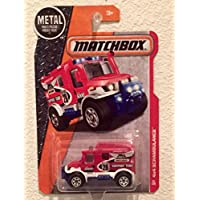 Matchbox MBX Heroic Rescue 4X4 RED Scrambulance 1:64 Scale Collectible Die Cast Metal Toy Car Model