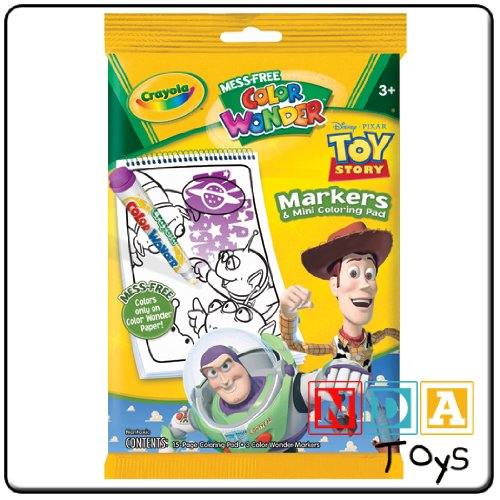 Color Wonder Toy Story Markers and Coloring Pad