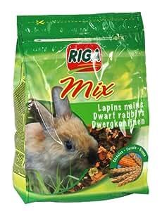 Riga - 22113 - Mix Lapins Nains Céréales Stand Up - 1,3 kg