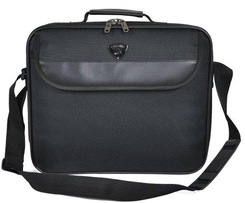 Aerolite ® leggero e resistente, colore: nero, 15 cm, dimensioni bagaglio NSP Cases-Borsa bagaglio a mano