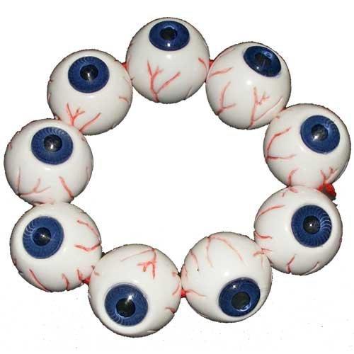 Kreepsville 666 BRAEB Eyeball Bracelet Blue