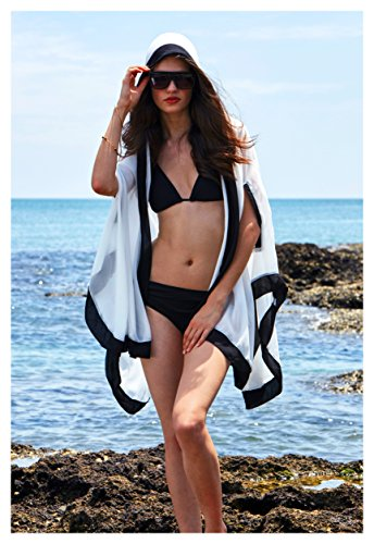 298a1eeb4 Swimwear Collection. MG Collection Sheer Kimono Swimsuit Coverup ...