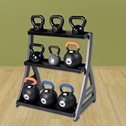 Legend Fitness Studio Premium Kettlebell Rack
