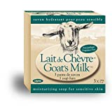 Canus Goat's Milk Fragrance Free Bar Soap, Five-Ounce Bars in 3-Count Boxes (Pack of 4) ~ Canus Goat's Milk