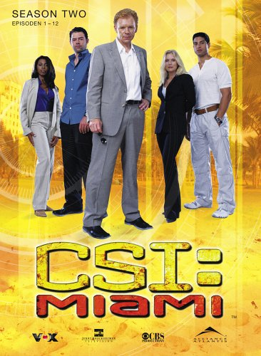 CSI: Miami - Season 2.1 (3 DVDs)