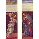 Art Panel - Altar Of The Youngest - Annunciation By Botticelli