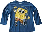 Boys SpongeBob Long Sleeved Top Blue