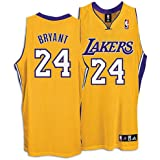 Kobe Bryant Lakers Adidas NBA Authentic Gold Jersey