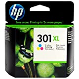 Hewlett-Packard (HP) Original 301XL Colour Ink Cartridge - High Capacity (330 pages)