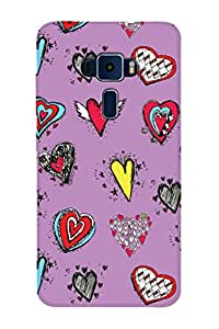 ZAPCASE PRINTED BACK COVER FOR ASUS ZENFONE 3 ZE520KL Multicolor