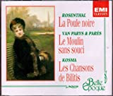 National Theatre of Comic Opera Rosenthal: Poule Noire, Van Parys & Pares: Moulin sans Souci, Kosma: Chansons de Bilitis