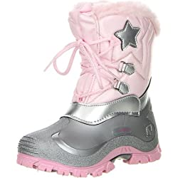 Spirale Kinder Mädchen Winterstiefel Snowboots Cadmium Nickel Blei FREI, Größe:30;Farbe:Rosa