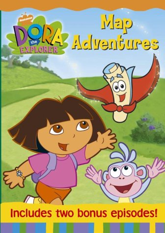 Dora The Explorer - Dora's Map Adventure [DVD]