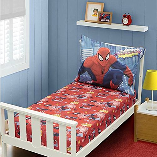Amazing Spiderman Toddler Bed Sheets