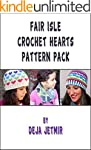 Fair Isle Crochet Hearts Pattern Pack...