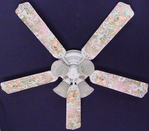 Ceiling Fan Designers Ceiling Fan Designers Magical Fairies Indoor Ceiling Fan, 52 In.