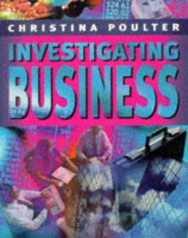 Investigating Business: Macmillan Business