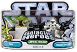 Star Wars Galactic Heroes Yoda and Clone Trooper