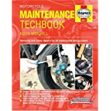 Motorcycle Maintenance Techbook (Haynes Service and Repair Manuals)by Keith Weighill