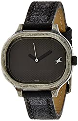 Fastrack Metalhead Analog Black Dial Womens Watch - 6086SL01