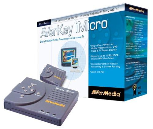 AVermedia Key Micro 1280 PC Mac to TV Scan ConverterB00006B7R7