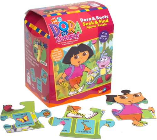Picture of Great American Dora the Explorer ,Dora and Friends, 401 (B00007JNWI) (Floor Puzzles)