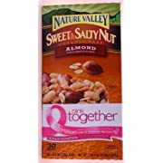 NATURE VALLEY Sweet and Salty Nut Granola Bars – almond dipped in almond butter coating – 30 / 1.2 oz. bars