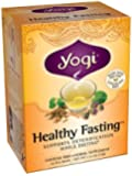 Yogi Healthy Fasting Tea, 16 Tea Bags (Pack of 6)