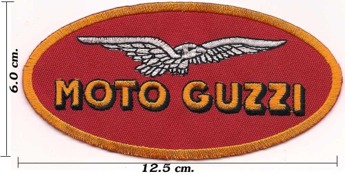 Find Bargain Moto Guzzi Patches Motorcycle Embroidered Sew on Iron On